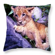 Nobody Will Play With Me Throw Pillow
