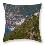 Nocelle Above Postitano Throw Pillow