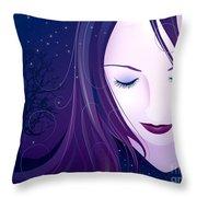 Nocturn Throw Pillow