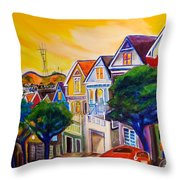 Noe Valley  Throw Pillow