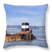 Noirmont Point Tower - Jersey Throw Pillow