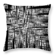 Noise Throw Pillow