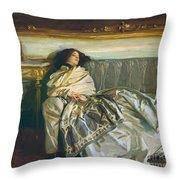 Nonchaloir Repose Throw Pillow