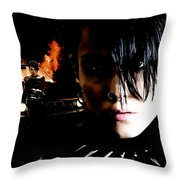 Noomi Rapace As Lisbeth Salander In The Film Millenium Throw Pillow