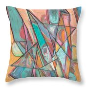 Noontime Throw Pillow
