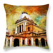 Noor Mahal Throw Pillow