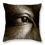 Nora On West Palace Throw Pillow