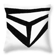 Nordic Rune Throw Pillow