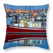 Nordic Tug Throw Pillow