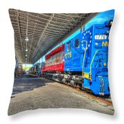 Norfolk And Western 1776 Throw Pillow