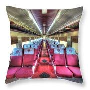 Norfolk And Western Passenger Coach Throw Pillow