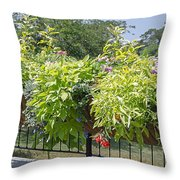 Norfolk Botanical Garden 8 Throw Pillow