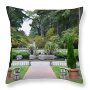 Norfolk Botanical Gardens 6 Throw Pillow