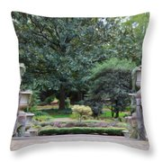 Norfolk Botanical Gardens 7 Throw Pillow