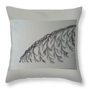 Norfolk Pine Throw Pillow