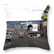 Normal Day Throw Pillow