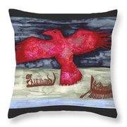 Norse Fairytale Throw Pillow