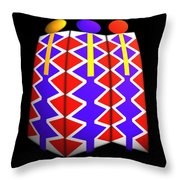 North American Pattern Throw Pillow