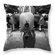 North American Rockwell Bronco Throw Pillow