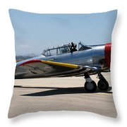 North American  Snj-5 2 Throw Pillow