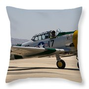 North American  Snj-5 Throw Pillow