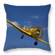 North American T6 Throw Pillow