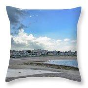 North Berwick Scotland Throw Pillow