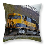 North Bound Throw Pillow