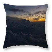North Carolina Dawn Throw Pillow