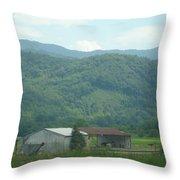 North Carolina Scenery 1 Throw Pillow