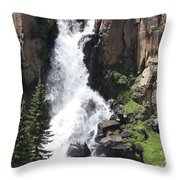 North Clear Creek Falls Throw Pillow