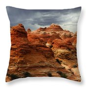 North Coyote Buttes Arizona Throw Pillow