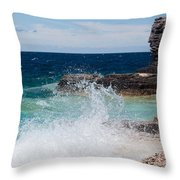 North East Winds Throw Pillow