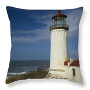 North Head Lighthouse 1 D Throw Pillow