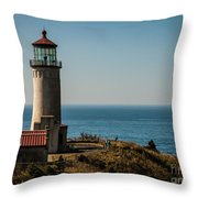 North Head Lighthouse Throw Pillow