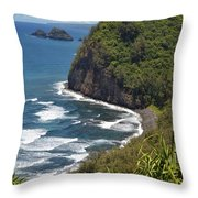 North Kona Coast 1 Throw Pillow