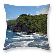 North Kona Coast 2 Throw Pillow