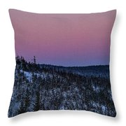 North Of Superior Throw Pillow