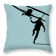 North Poster 3 Throw Pillow by Naxart Studio