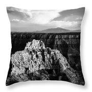 North Rim Throw Pillow by Dave Bowman
