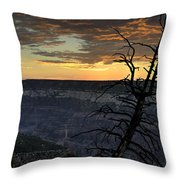 North Rim Dawn Throw Pillow