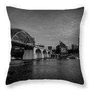 North Shore Bridge Throw Pillow