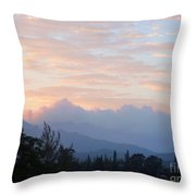 North Shore Haze Throw Pillow