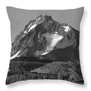105615-north Sister Or,bw Throw Pillow