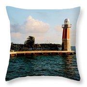 North Sound Beacon Throw Pillow