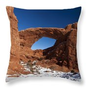 North Window Arches National Park Utah Throw Pillow