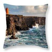 Northern Atlantic Throw Pillow
