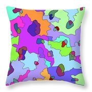 Northern Counties Throw Pillow
