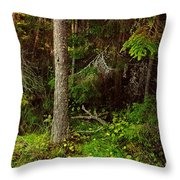 Northern Forest 1 Throw Pillow