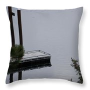 Northern Idaho Winter Throw Pillow